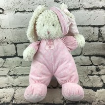 "BABY GUND - Paisley Collection Pink bedtime Bunny Rabbit Plush 12"" Soft ... - $16.82"