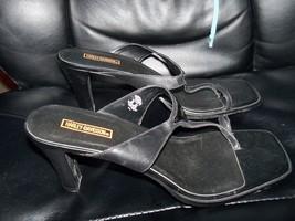 Davidson Kyla Sandals Harley Leather Shoes Women's Size EUC 10 wSB75q