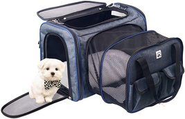 """21"""" Expandable Pet Carrier Bag with Wool Rug - $36.99"""