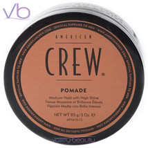 AMERICAN CREW (Pomade, Medium Hold, High Shine, Hair Styling, Puck For Men) - $12.00