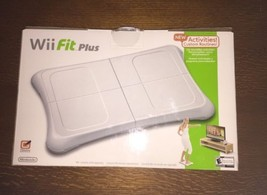 Unused Wii Fit Plus Balance Board In Original Box Nintendo WITH GAME - $17.72