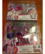 2 My Little Pony Sparkle Bright Princesses Celestia & Twilight Sparkle New - $29.69