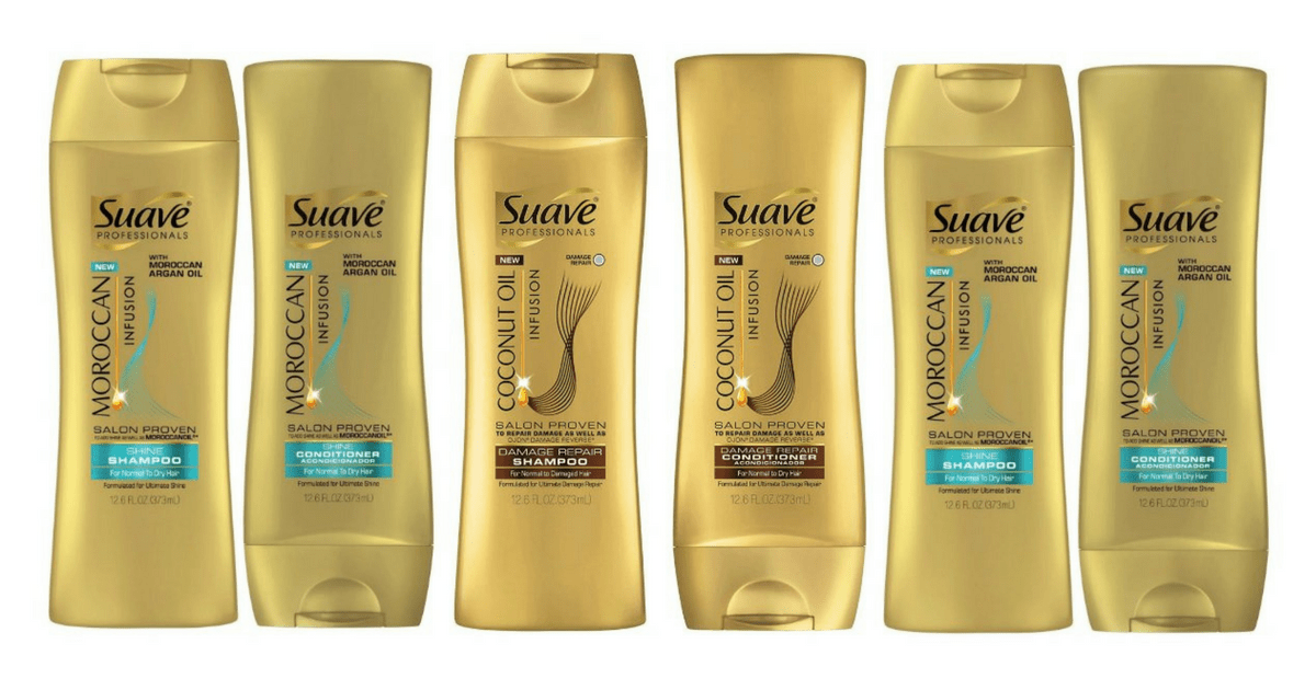 Primary image for B1 G1 @ 20% OFF (Add2) Suave Shampoo/Conditioner-Damage,Sleek,Natural,Moroccan