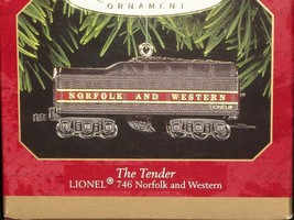 Hallmark Ornament The Tender Lionel 746 Norfolk And Western Black 1999 - $33.85