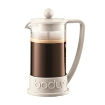 Bodum Brazil Three Cup French Press Coffee Maker - Off White 0.35L from ... - £30.80 GBP
