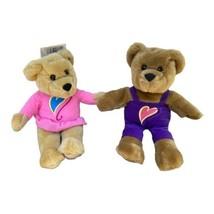 Hallmark Magnetic Kissing Bears Plush Stuffed Animal Valentine's Day Pin... - $13.86