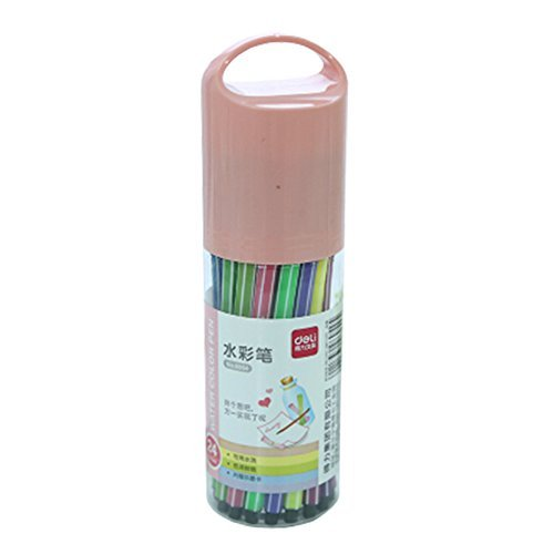 Primary image for Set of 24 Color Pen Colour Marker Fine Point Mark Pen Color Set, Colorful NO.10
