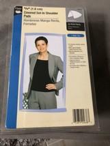 """Dritz 5/8"""" 1.6 cm Covered Set in shoulder pads dresses, knitwear, jacket... - $15.00"""