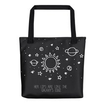 Her lips are like the Galaxy's edge Tote Bag - $40.00