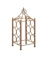 Art Wine Rack, Decorative Table Metal Wine Rack Holder - $53.99