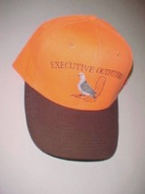 Executive Outfitters Orange Brown Outdoors Hunting Baseball Cap One Size - $19.79