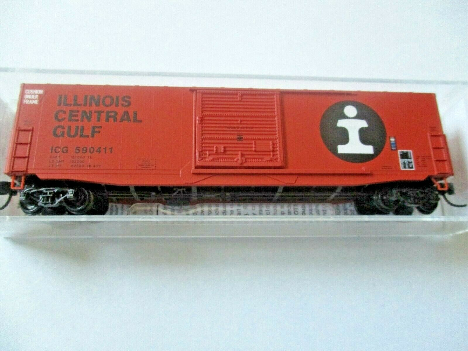 Micro-Trains # 18000280 Illinois Central Gulf 50' Standard Box Car N-Scale