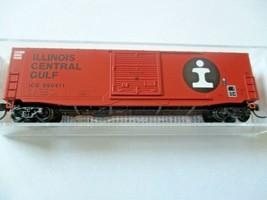 Micro-Trains # 18000280 Illinois Central Gulf 50' Standard Box Car N-Scale image 1