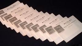 11 Antique Blank Letterheads Winslow/ Ashland Maine ,Berkshire Hogs Here... - $11.00