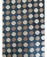 "Perry Ellis Portfolio ~ 100% Silk ~ 56"" Necktie ~ Shades of Brown Throug... - $15.84"