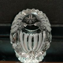 1 GORHAM ANGELS OF PEACE Crystal Frosted Votive Candle Holder image 4