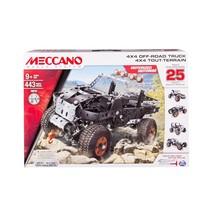 New Meccano 4x4 Off Road Truck Building Set - Motorized Makes 25 Models - $49.99
