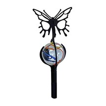 38 Inch Butterfly Marble Garden Stake - $19.60
