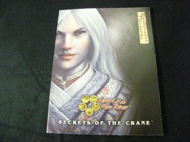 L5R Oriental Adventures Secrets of the Crane 3037 VF! - $22.74
