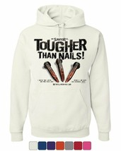 My Savior is Tougher than Nails Hoodie Jesus Christ Revelation Sweatshirt - $22.94+