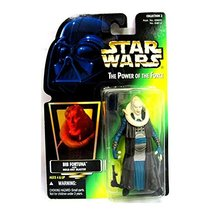 Star Wars 1997 Power of the Force - Bib Fortuna with Hold Out Blaster - $2.45