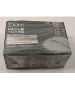 Dove Men + Care Elements Body and Face Bar Charcoal + Clay 4 oz, 4 Bars - $15.64