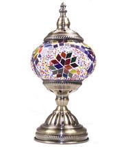 Mosaic Lamp Vintage Desk LIGHT Handmade Turkis... - $49.49
