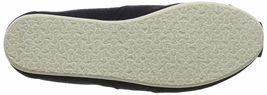 Nuevo Toms Mujer Clásico Negro de Tela sin Cordones Zapatos Planos NWOB image 7