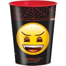 Emoji Halloween Smiley Face 16 oz Keepsake Stadium Cup 1 Per Pkg Party S... - $1.24