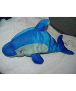 "Kellytoy Dolphin Plush Stuffed Animal 16"" Long - $6.00"