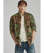 Polo Ralph Lauren Men's Classic Camouflage Oxford Shirt, Large - $74.25