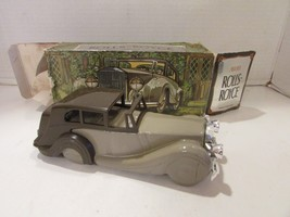 AVON ROLLS-ROYCE CAR DEEP WOODS AFTER SHAVE 6 FL OZ BOXED EMPTY DECANTER - $2.92