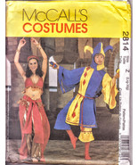 McCall's Costumes 2814 Size L-XL, Misses Costume, Men Teen Boys, Jester ... - $10.00