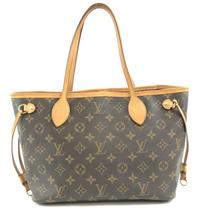 #31701 Louis Vuitton Neverfull Nm New Model Pm Tote Monogram Canvas Shou... - $800.00