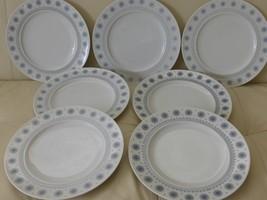 Rosenthal T API O Wirkkala Ice Blossom 1960S Dinner Plates Set Of 7 - $119.00