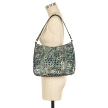 NWT Brahmin Meg Leather Purse / Shoulder Bag in Glacier Melbourne - $239.00
