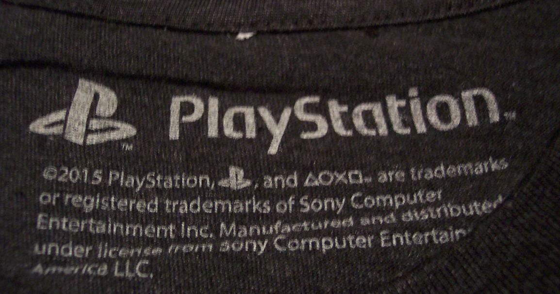 VINTAGE STYLE PLAYSTATION Video Game System T-Shirt 2XL XXL NEW w/ TAG