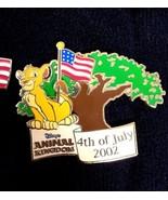 Disney Lion King Animal Kingdom 4th of July Celebration Simba LE 3500 pin - $9.79
