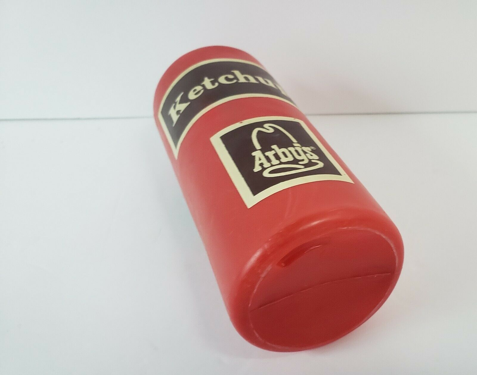 "Vintage Arby's Ketchup Squeeze Bottle - 1970's - Advertising - 7.5"" Tall image 5"