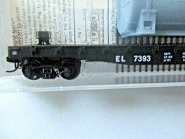 Micro-Trains # 04500540 Erie Lackawanna 50' Flat Car with Load N-Scale image 2