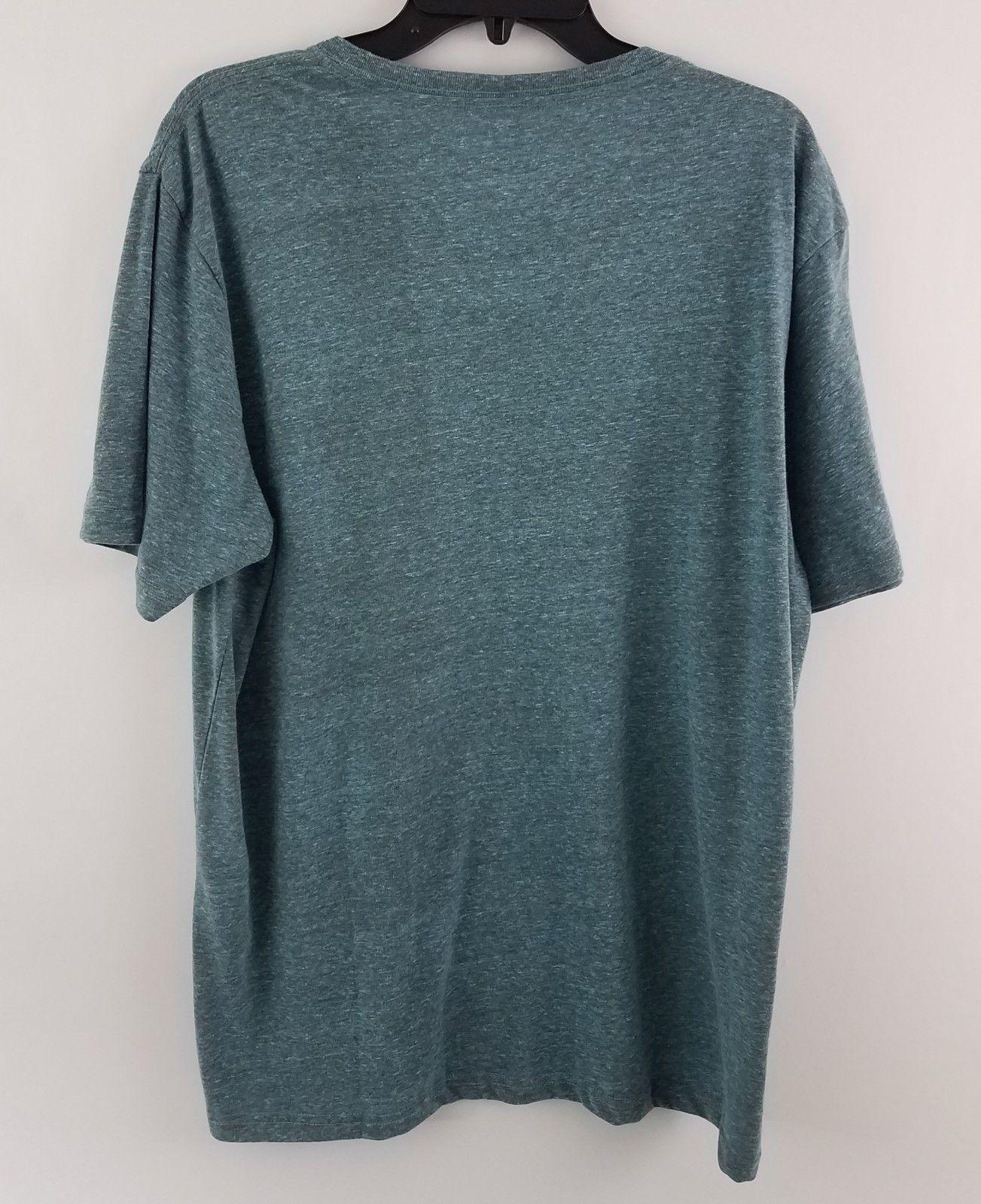 American Rag Cie Men's Tri Blend T-Shirt Barbados Blue 152536 image 3