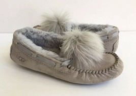 UGG DAKOTA POM POM SEAL WATER RESISTANT SHEARLING SLIPPERS US 10 / EU 41... - $88.83