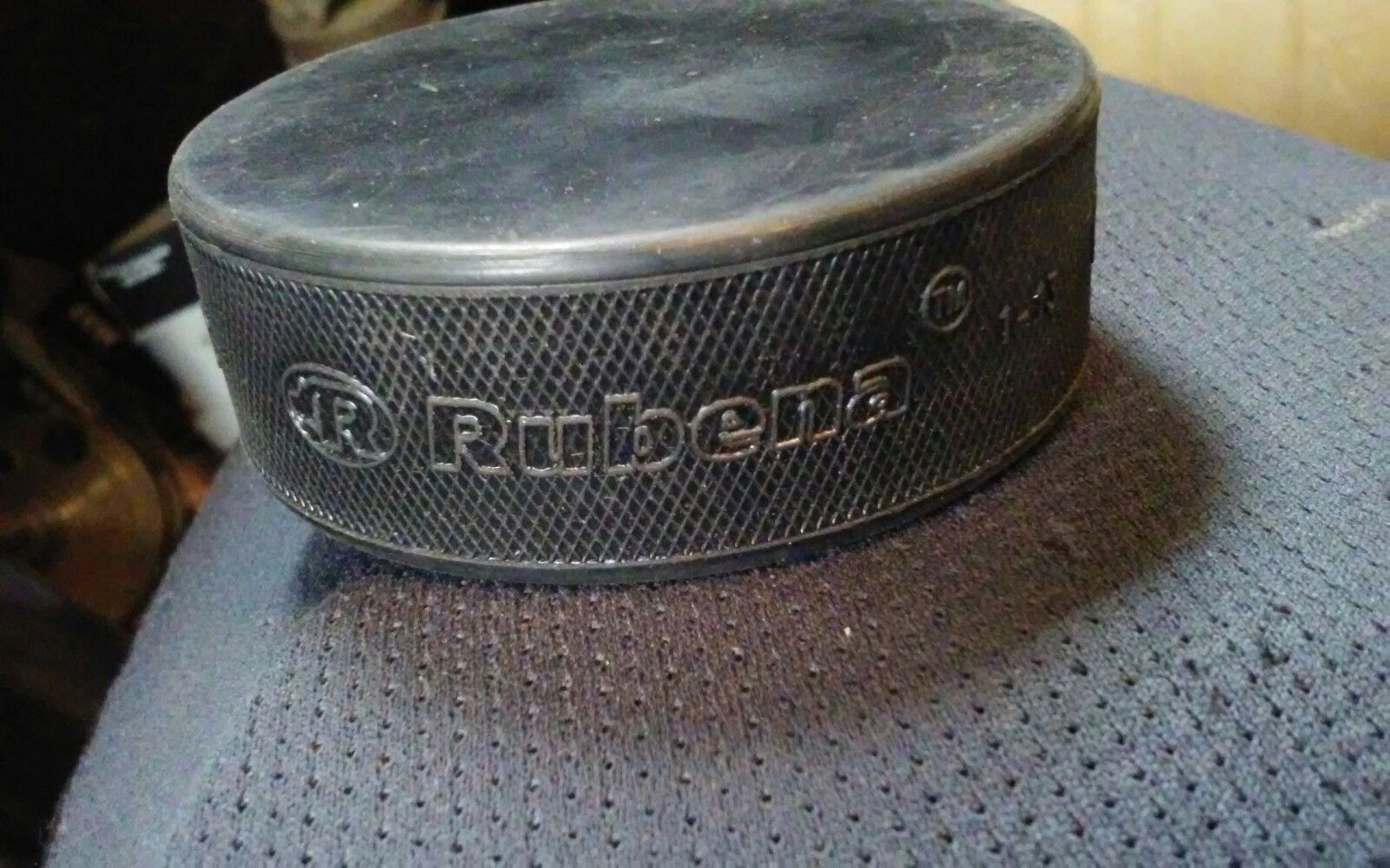 Official Rubena Hockey Puck New Made in Czech Republic