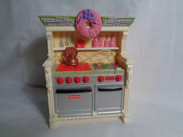 2008 Fisher Price Loving Family Dollhouse Replacement Kitchen Stove Oven Sounds - $11.39