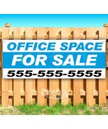 OFFICE SPACE FOR SALE CUSTOM PHONE # Advertising Vinyl Banner Flag Sign - $14.24+