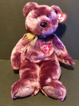 "TY Beanie Buddies 1999  the 2000 Signature Bear 14"" tall w/ tag - $9.45"