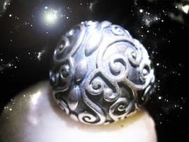 HAUNTED RING THE ANCIENTS SACRED ENERGY TO STOP LOSSES POWERS MAGICK POWER  - $8,777.77