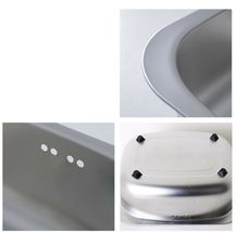 Silverstar Stainless Steel Dishpan Washing-up Bowl Bucket Basket Tub image 7