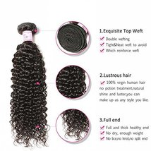 Beauty Forever Top Quality 8A Malaysian Jerry Curly Hair 1 Bundle Unprocessed Hu image 3