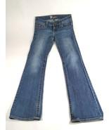 Kut From The Kloth Womens Stretch Flap Pocket Boot Cut Medium Wash Jeans... - $9.46